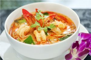 タイ料理のトムヤムクン