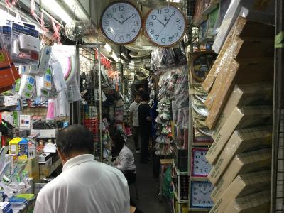 サンペーン市場の時計市場